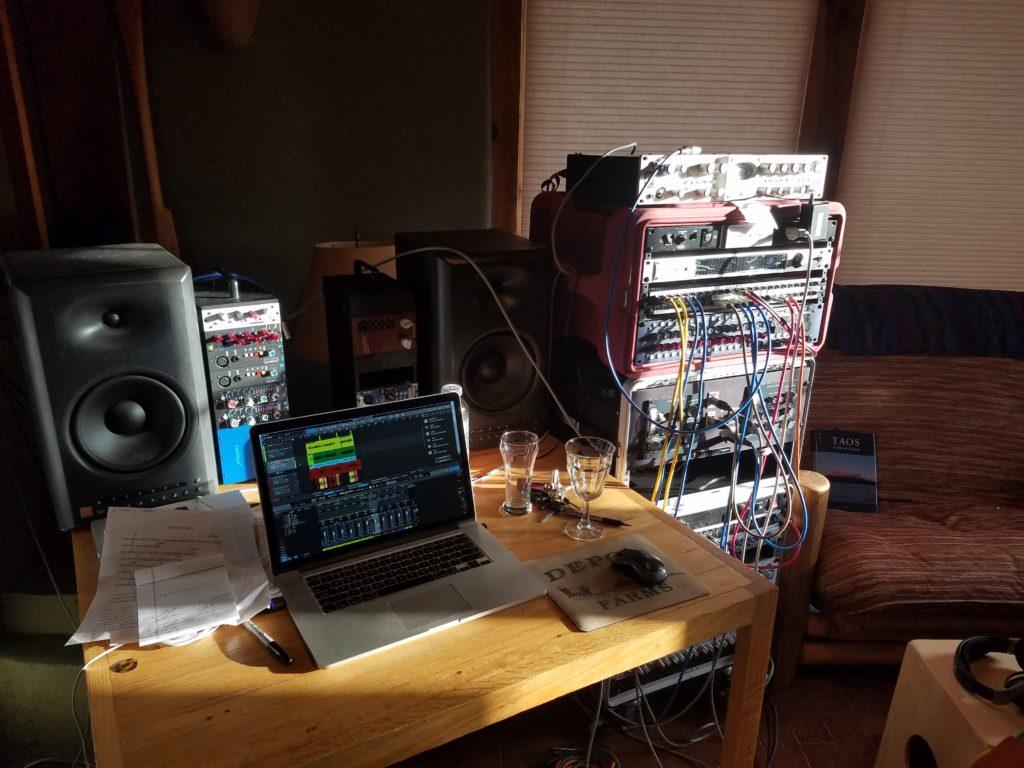 Taos New Mexico Mobile Recording Rig