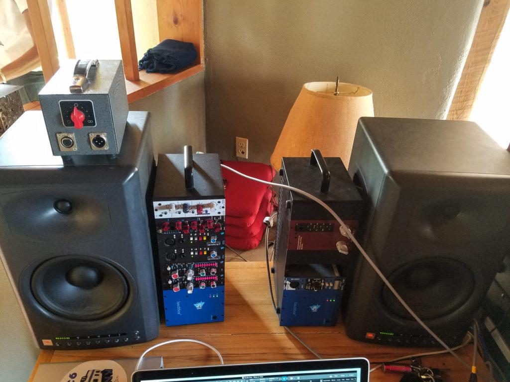 Taos Recording Mobile Rig 500 series units